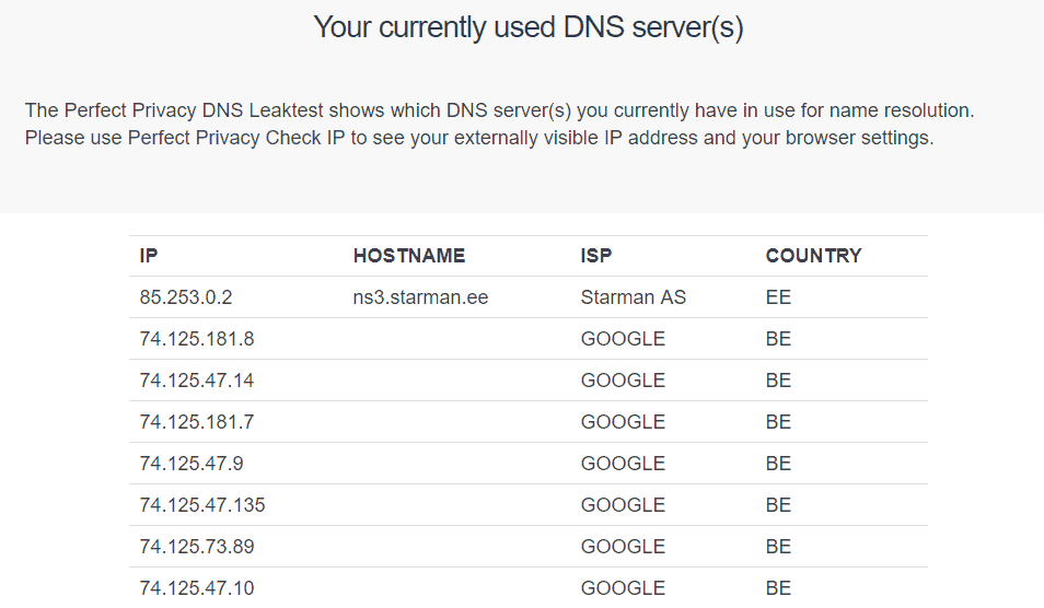 Ace-currently-used-DNS-server