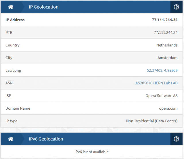 no IP leak