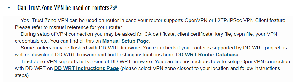 trust.zone and routers