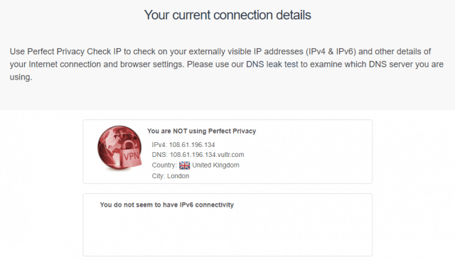 no ip leaks found on hide my ip VPN