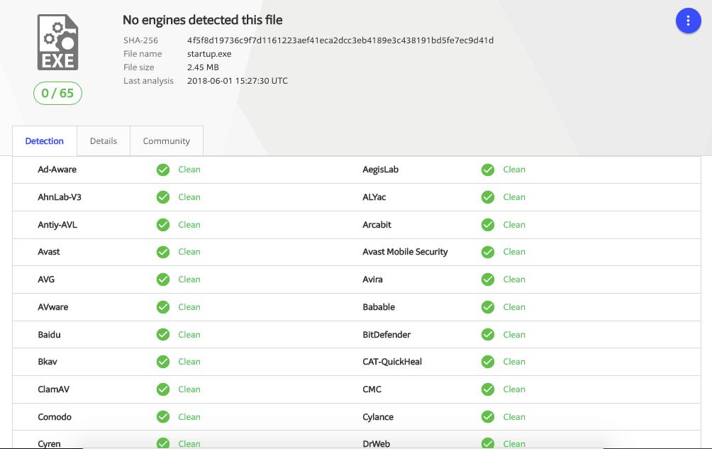 virus free VPN installer