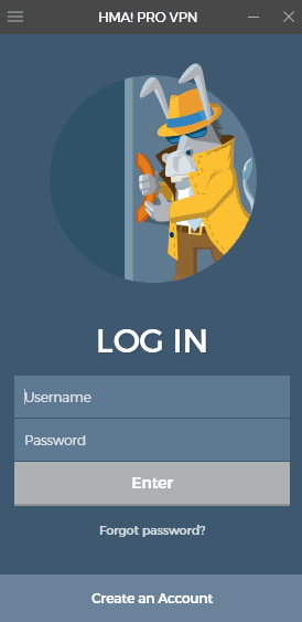 HideMyAss! VPN client login