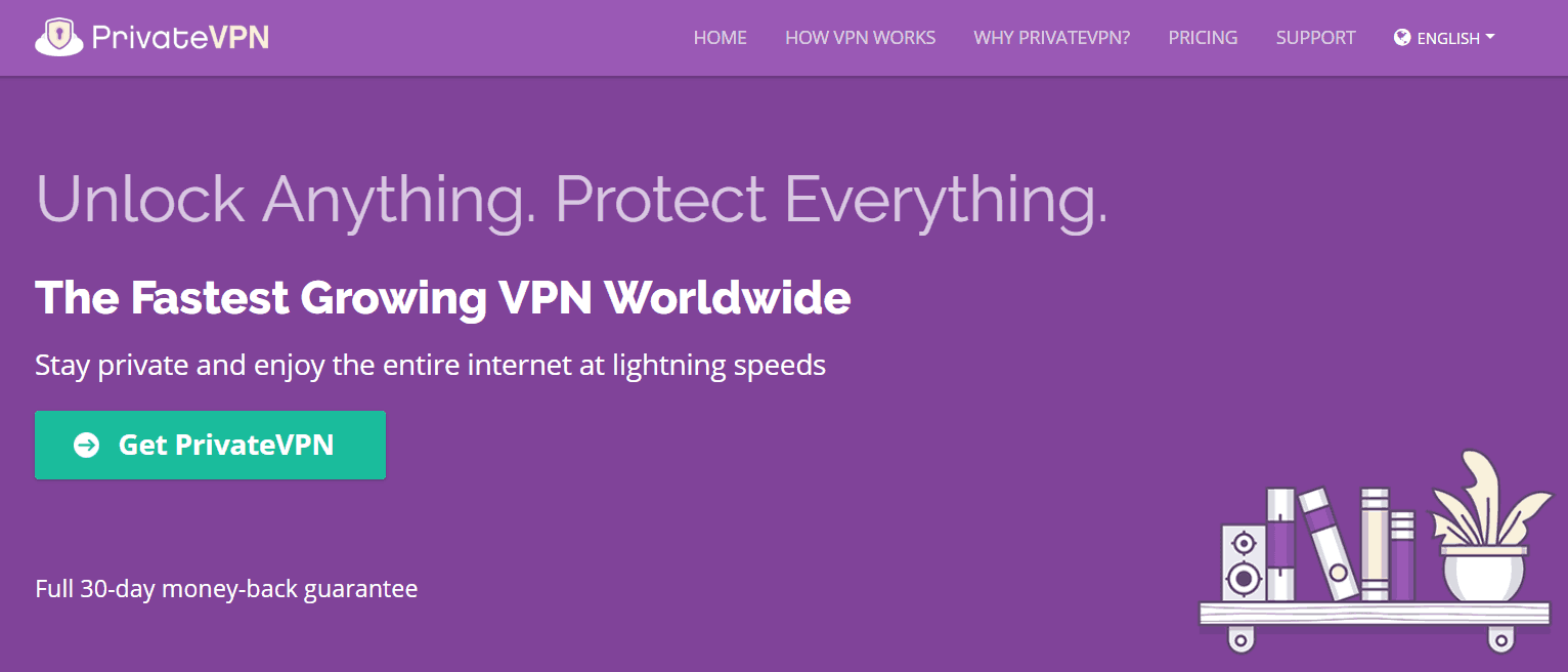 PrivateVPN for torrenting