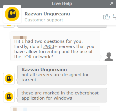 Cyberghost-Live-Chat-on-torrenting