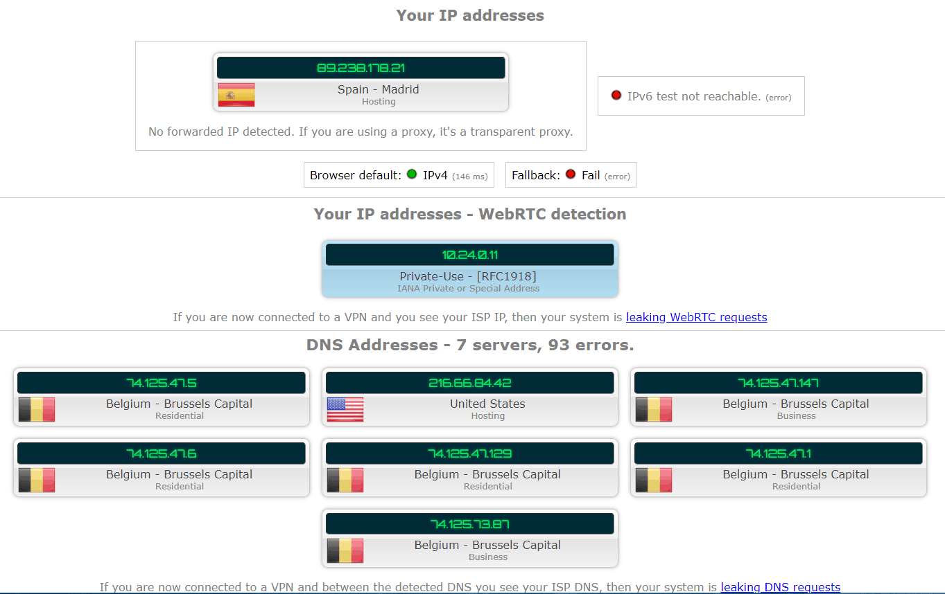 zenmate webrtc test