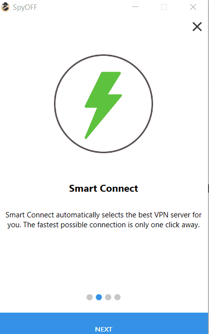 spyoff smart connect screen
