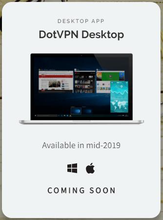 DotVPN Desktop app