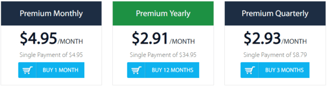 Hide My IP VPN pricing