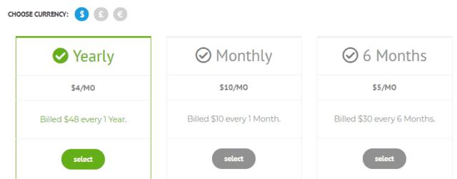 SlickVPN pricing