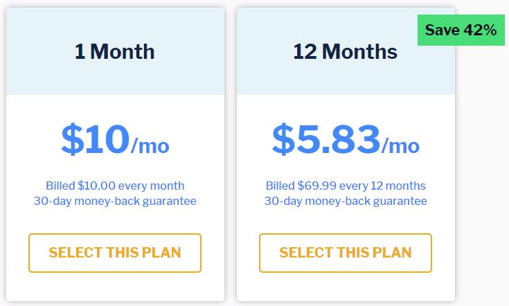 Starke VPN-Preisgestaltung