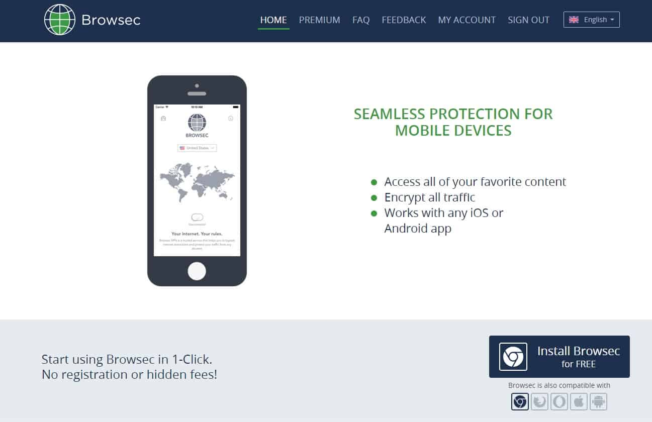 Browsec VPN Review - Slow Speed & Russian Jurisidiction, But
