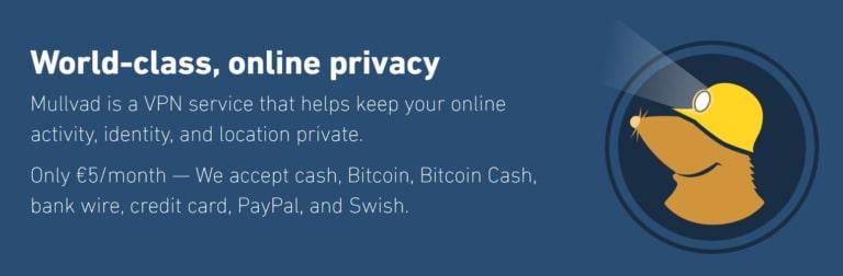 Mullvad VPN for torrenting