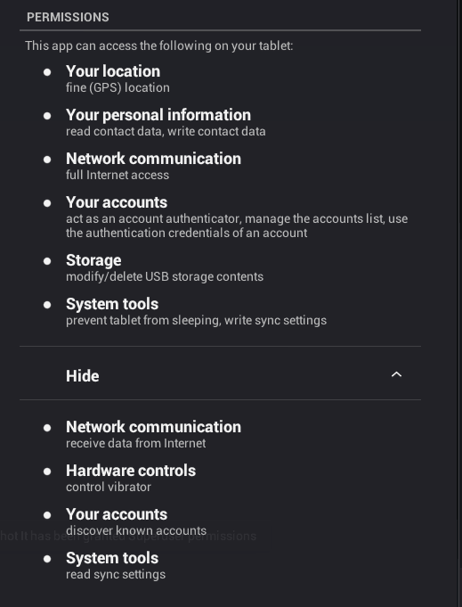 Android VPN Permissions - 2019 Study | TheBestVPN com