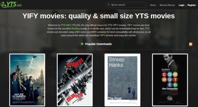 YTS.AM torrent site