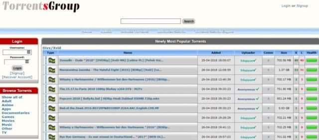 torrentsgroup torrent site