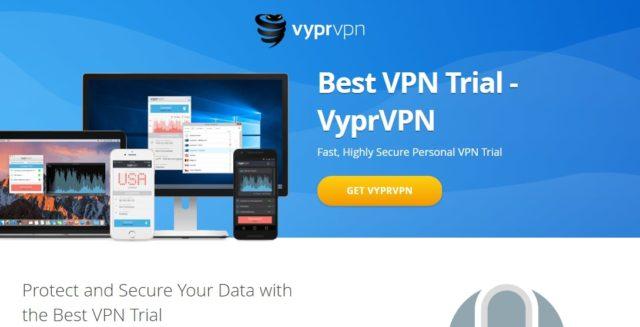 vyprvpn free trial page