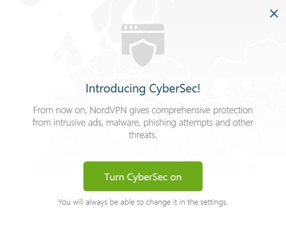 nordvpn cybersec