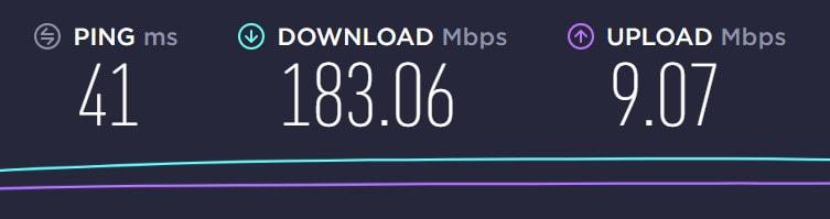 surfshark vpn download speeds