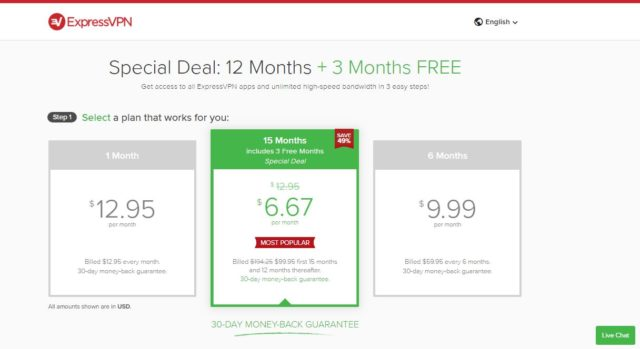 expressvpn pricing review
