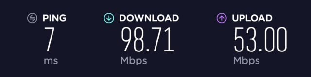Speed test without VPN provider